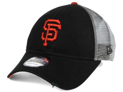San Francisco Giants New Era MLB Rustic Trucker 9TWENTY Cap