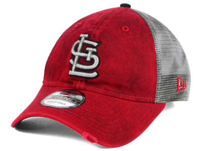 St. Louis Cardinals New Era MLB Rustic Trucker 9TWENTY Snapback Cap