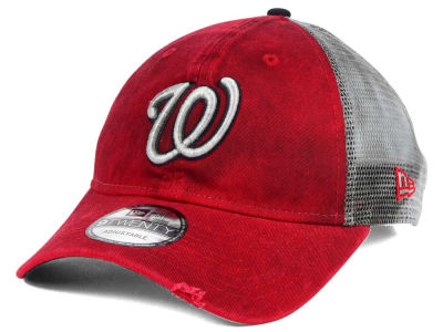 Washington Nationals New Era MLB Rustic Trucker 9TWENTY Cap