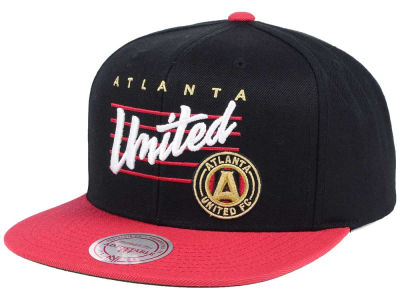 Atlanta United FC Mitchell and Ness MLS Mithchell & Ness Script Snapback Cap