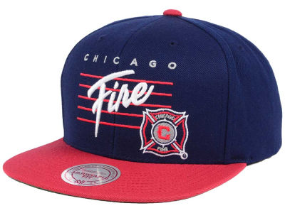 Chicago Fire Mitchell and Ness MLS Mithchell & Ness Script Snapback Cap