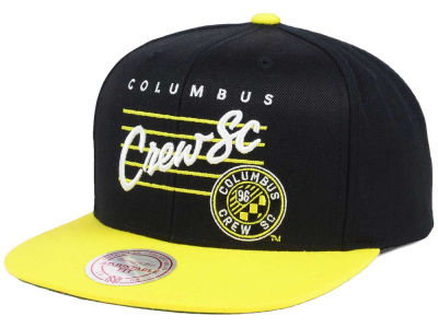 Columbus Crew SC Mitchell and Ness MLS Mithchell & Ness Script Snapback Cap