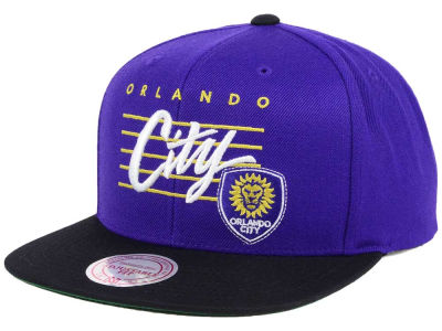 Orlando City SC Mitchell and Ness MLS Mithchell & Ness Script Snapback Cap