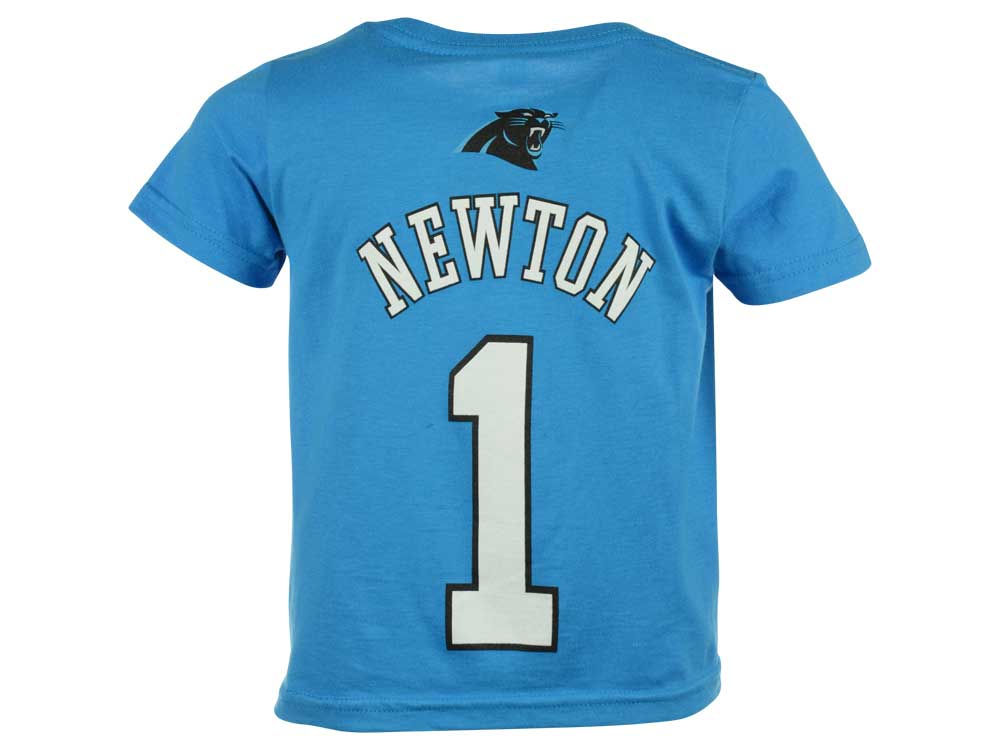 Carolina Panthers Cam Newton Outerstuff NFL Toddler Mainliner Player  T-Shirt  daed9271f