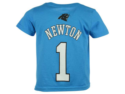 Carolina Panthers Cam Newton NFL Toddler Mainliner Player T-Shirt