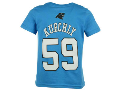 Carolina Panthers Luke Kuechly Outerstuff NFL Toddler Mainliner Player T-Shirt