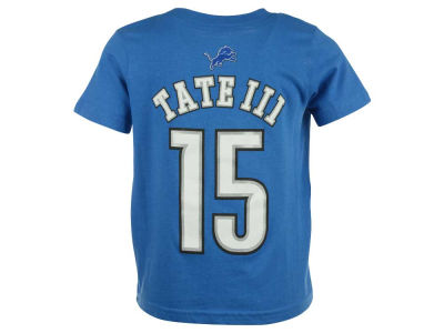 Detroit Lions Golden Tate Outerstuff NFL Toddler Mainliner Player T-Shirt