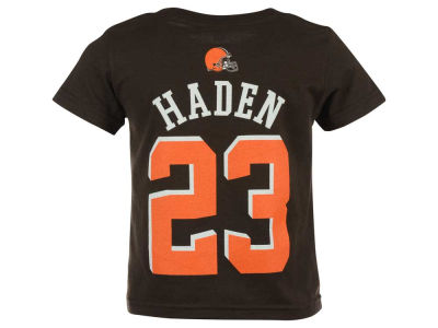 Cleveland Browns Joe Haden NFL Toddler Mainliner Player T-Shirt
