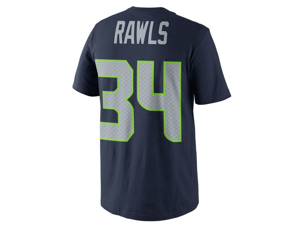 Seattle Seahawks Thomas Rawls Nike NFL Youth Pride Name and Number T-Shirt   943d82e3d
