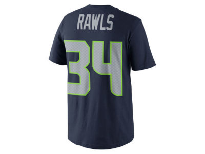 Seattle Seahawks Thomas Rawls Nike NFL Youth Pride Name and Number T-Shirt