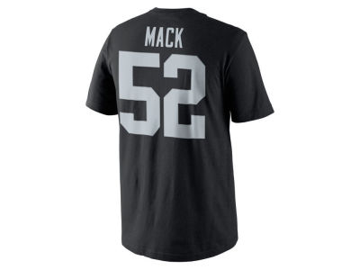 Oakland Raiders Khalil Mack Nike NFL Youth Pride Name and Number T-Shirt