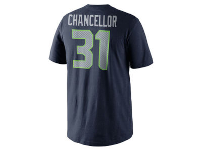 Seattle Seahawks Kam Chancellor Nike NFL Youth Pride Name and Number T-Shirt