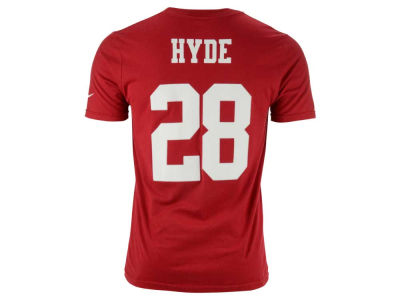 San Francisco 49ers Carlos Hyde Nike NFL Youth Pride Name and Number T-Shirt