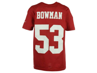 San Francisco 49ers NaVorro Bowman Nike NFL Youth Pride Name and Number T-Shirt