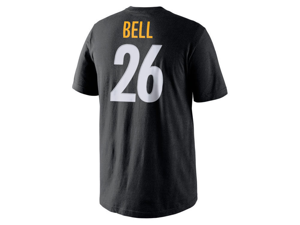Pittsburgh Steelers Le veon Bell Nike NFL Youth Pride Name and Number T- Shirt  875bf2a31