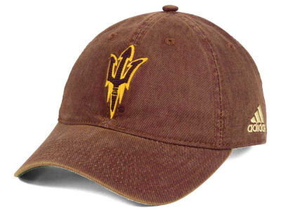 Arizona State Sun Devils adidas Sport NCAA Over Dye Slouch Cap