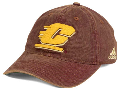 Central Michigan Chippewas adidas NCAA Over Dye Slouch Cap