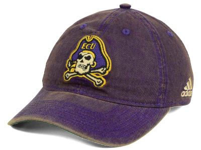 East Carolina Pirates adidas NCAA Over Dye Slouch Cap