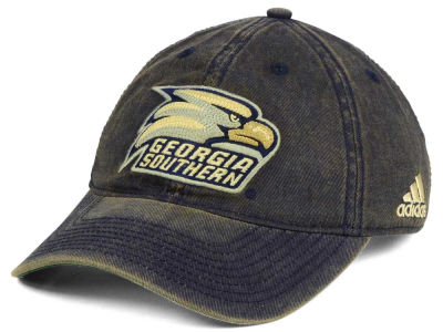 Georgia Southern Eagles adidas NCAA Over Dye Slouch Cap