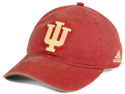 Indiana Hoosiers adidas Sport NCAA Over Dye Slouch Cap