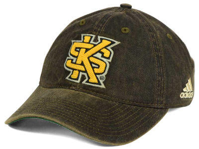 Kennesaw State Owls adidas NCAA Over Dye Slouch Cap
