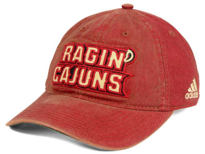 Louisiana Ragin' Cajuns adidas NCAA Over Dye Slouch Cap