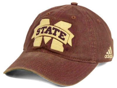 Mississippi State Bulldogs adidas NCAA Over Dye Slouch Cap