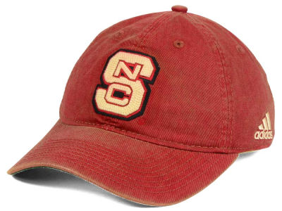 North Carolina State Wolfpack adidas NCAA Over Dye Slouch Cap
