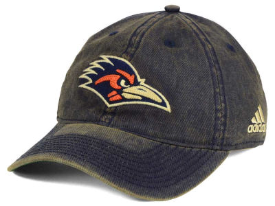 University of Texas San Antonio Roadrunners adidas Sport NCAA Over Dye Slouch Cap