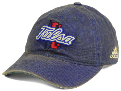 Tulsa Golden Hurricane adidas NCAA Over Dye Slouch Cap