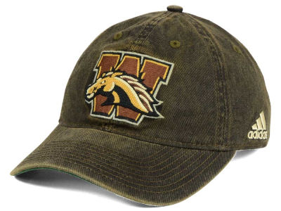 Western Michigan Broncos adidas NCAA Over Dye Slouch Cap
