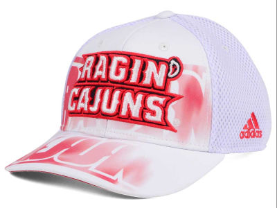 Louisiana Ragin' Cajuns adidas NCAA Double Logo Adjustable Cap