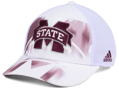 Mississippi State Bulldogs adidas NCAA Double Logo Adjustable Cap