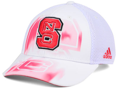 North Carolina State Wolfpack adidas NCAA Double Logo Adjustable Cap
