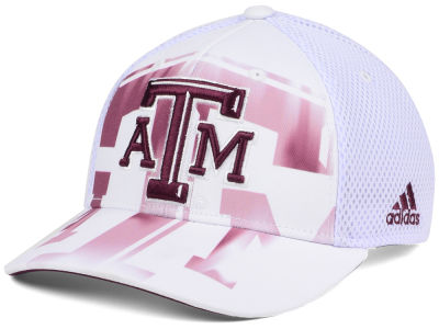Texas A&M Aggies adidas NCAA Double Logo Adjustable Cap