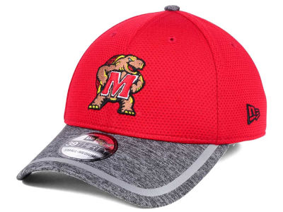 Maryland Terrapins New Era NCAA Training 39THIRTY Cap