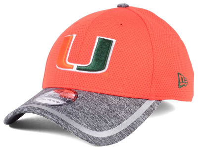 Miami Hurricanes New Era NCAA Training 39THIRTY Cap
