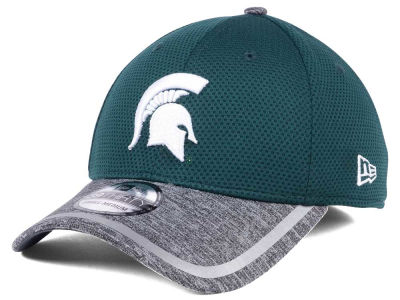 Michigan State Spartans New Era NCAA Training 39THIRTY Cap