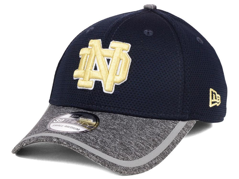 Notre Dame Fighting Irish New Era NCAA Training 39THIRTY Cap  e28d65c472c8