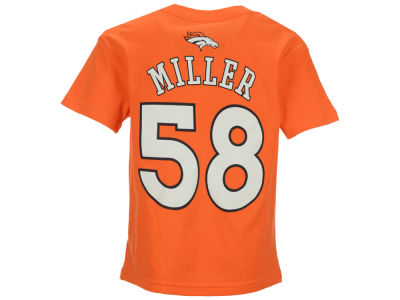 Denver Broncos Von Miller Outerstuff NFL Kids Mainliner Player T-Shirt