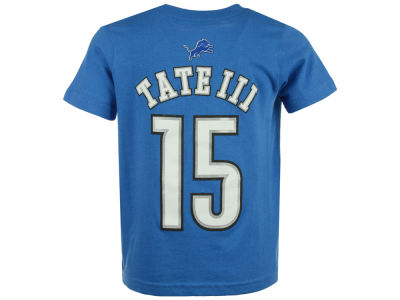 Detroit Lions Golden Tate Outerstuff NFL Kids Mainliner Player T-Shirt