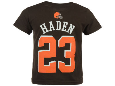 Cleveland Browns Joe Haden Outerstuff NFL Kids Mainliner Player T-Shirt