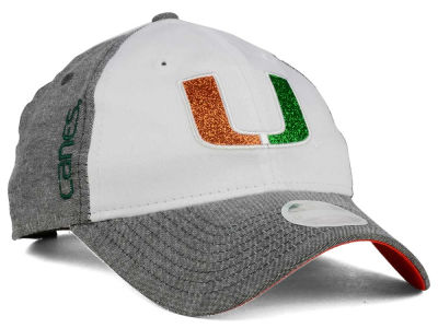Miami Hurricanes New Era NCAA Sparkle Shade 9TWENTY Cap