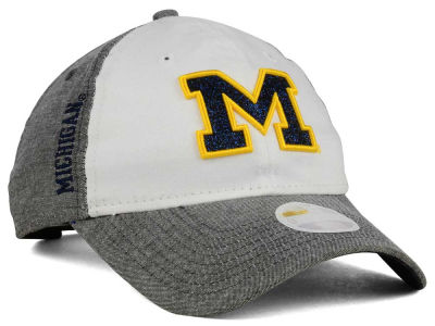 Michigan Wolverines New Era NCAA Sparkle Shade 9TWENTY Cap