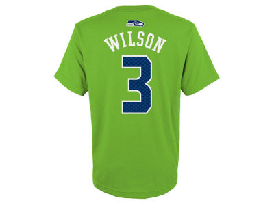 Seattle Seahawks Russell Wilson NFL Kids Mainliner Player T-Shirt