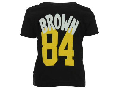 Pittsburgh Steelers Antonio Brown Outerstuff NFL Infant Whirlwind Player T-Shirt
