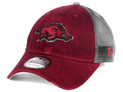 Arkansas Razorbacks New Era NCAA Team Rustic 9TWENTY Cap
