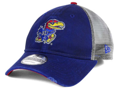 Kansas Jayhawks New Era NCAA Team Rustic 9TWENTY Cap