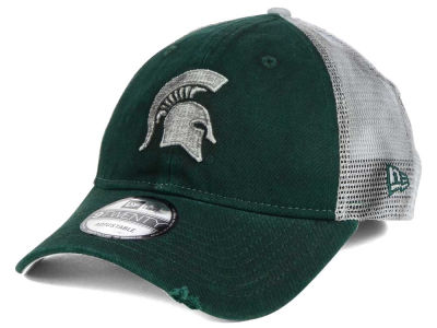 Michigan State Spartans New Era NCAA Team Rustic 9TWENTY Cap