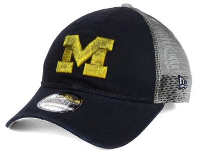 Michigan Wolverines New Era NCAA Team Rustic 9TWENTY Cap